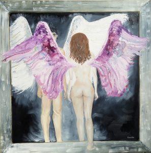cuadro alado eternal 100 x 100 2008