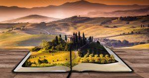 libro abierto naturaleza