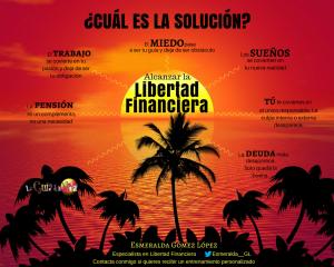 La solución es alcanzar la Libertad Financiera